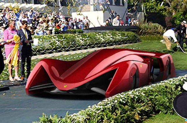 Ferrari Gothica Rossa Supercar concept (5)