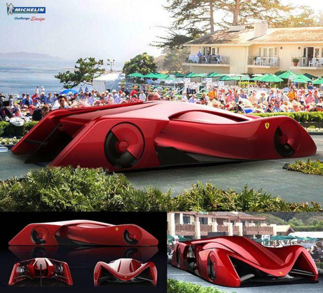 Ferrari Gothica Rossa Supercar concept (2)