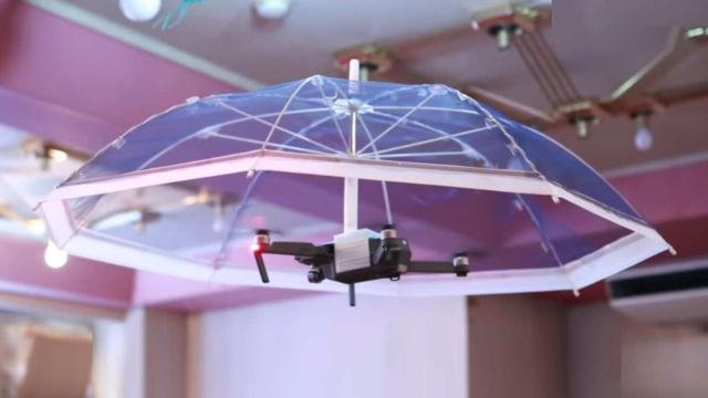 Hands-free autonomous Umbrella that follow you
