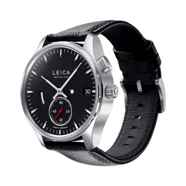 Leica unveils minimalist watches (