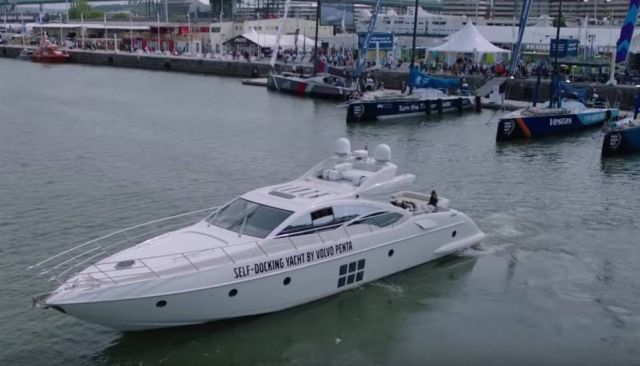 demo of a Self-docking Yacht