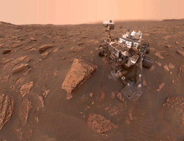 Martian Dust Storm Grows Global