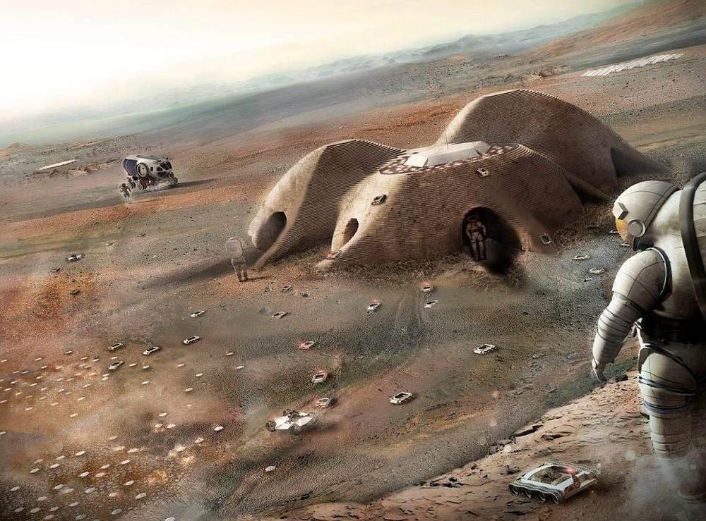 Martian Habitation Pod Concept