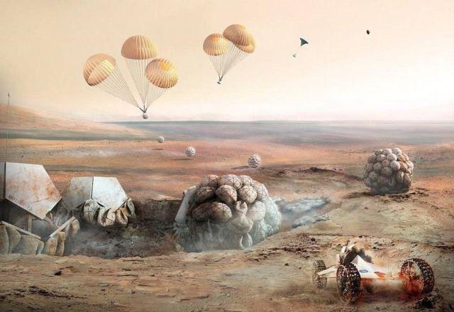 Martian Habitation Pod Concept (3)