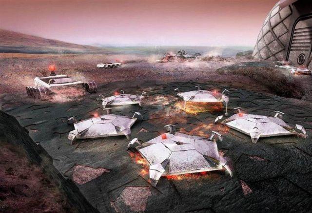 Martian Habitation Pod Concept (2)