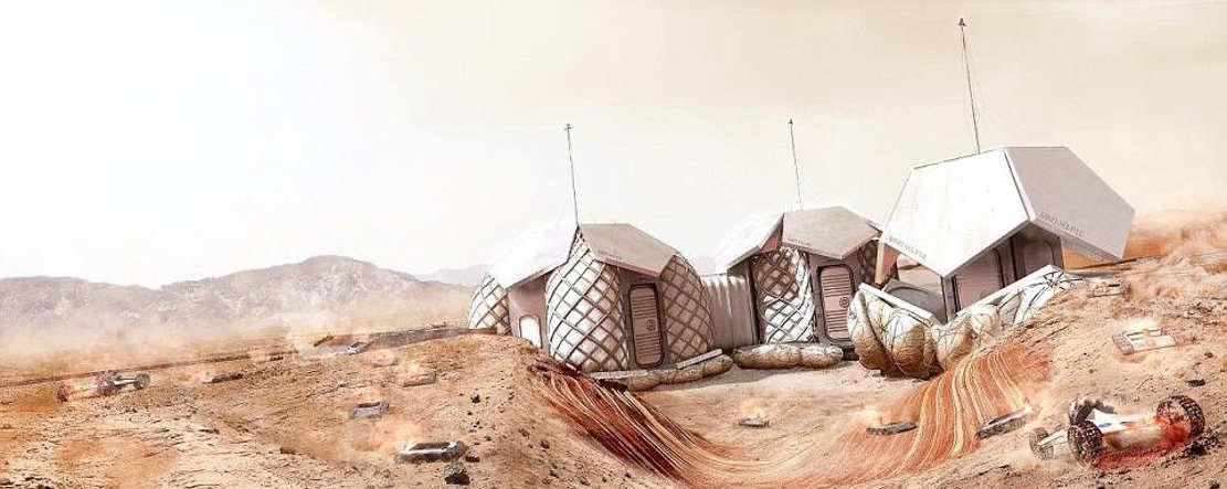 Martian Habitation Pod Concept (1)