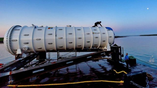 Microsoft underwater Datacenter is now operational