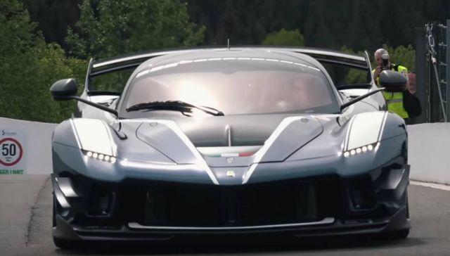 New Ferrari FXX-K Evo