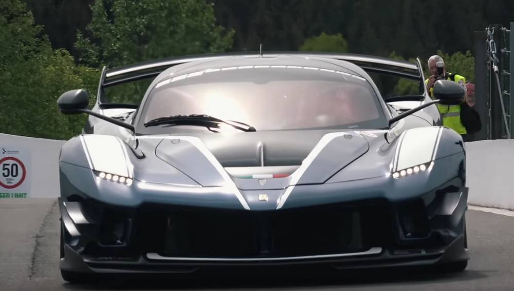 New Ferrari FXX-K Evo Sound