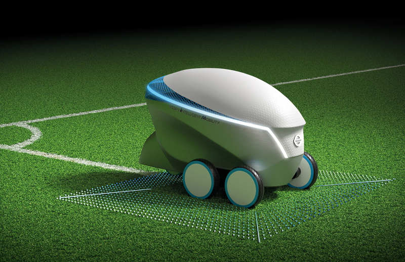 Nissan Pitch-R Soccer Field Robot