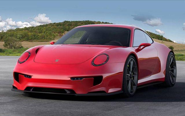 Porsche 911 Mission E concept (8)