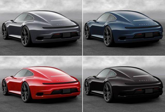 Porsche 911 Mission E concept (7)