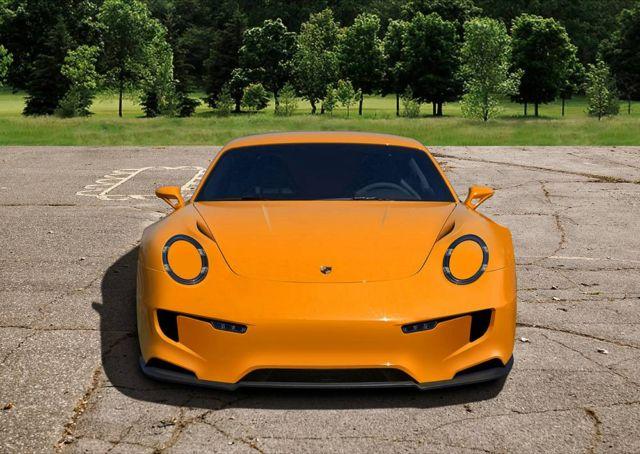 Porsche 911 Mission E concept (6)