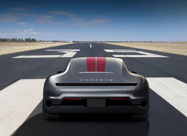 Porsche 911 Mission E concept (5)