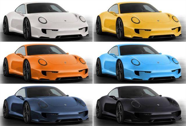 Porsche 911 Mission E concept (4)