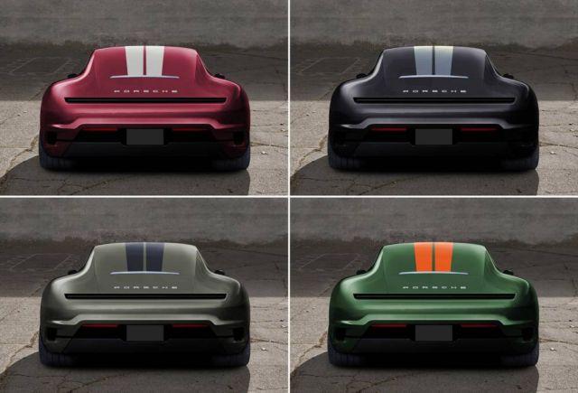 Porsche 911 Mission E concept (2)