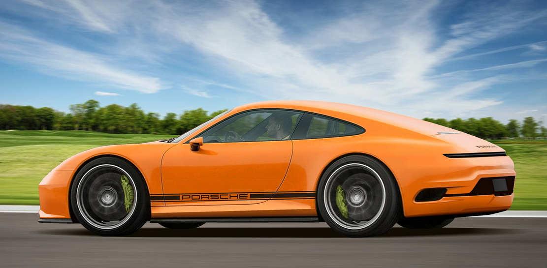Porsche 911 Mission E concept (1)