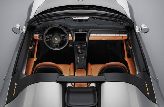 Porsche 911 Speedster Concept revealed (5)