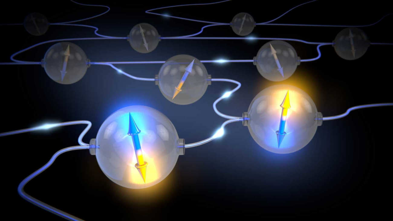 Quantum entanglement will lead to a super-secure Internet