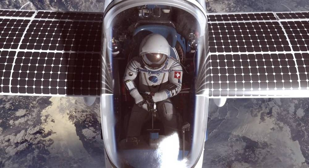 SolarStratos to the edge of space