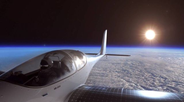 SolarStratos to the edge of space