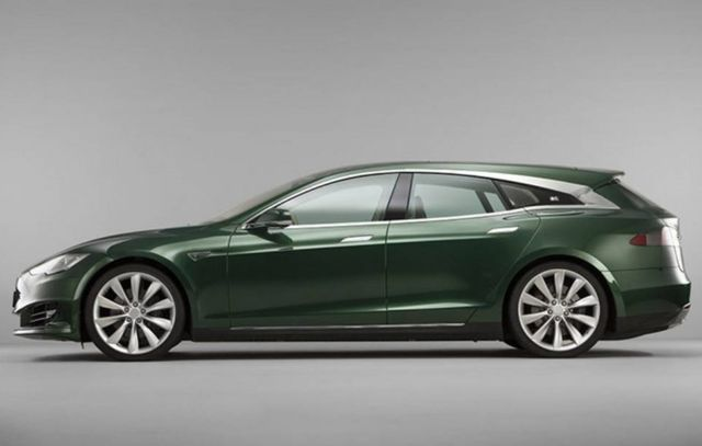 The RemetzCar Model S Shooting Brake
