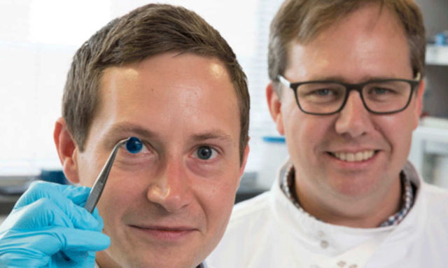 The first 3D-Printed Human Corneas