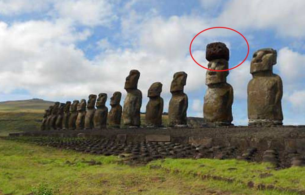 The mystery of how Easter Island Statues got their massive Hats, solved