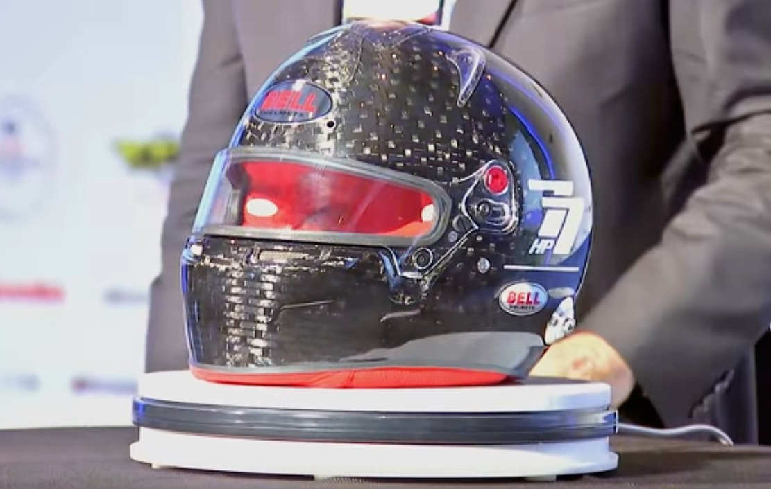 The new Safety Standard for F1 Helmet revealed