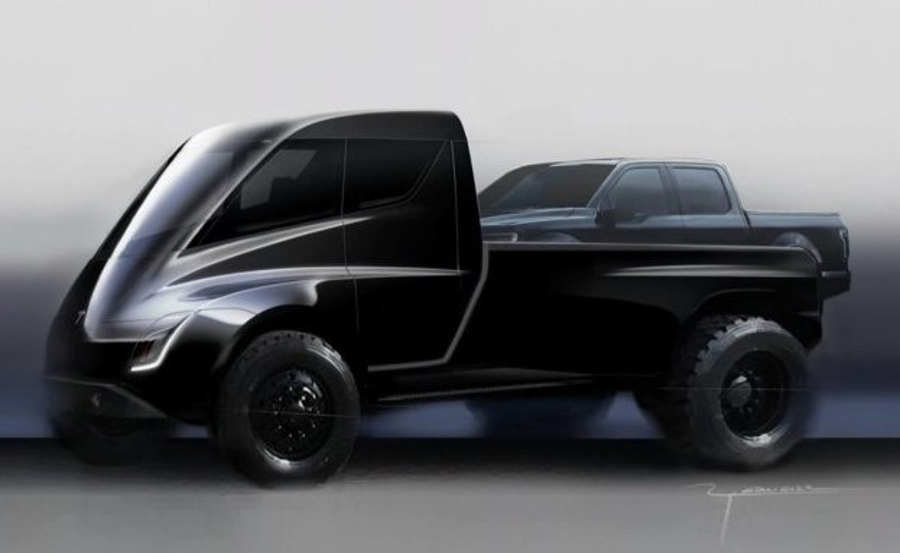 Tesla's pickup truck