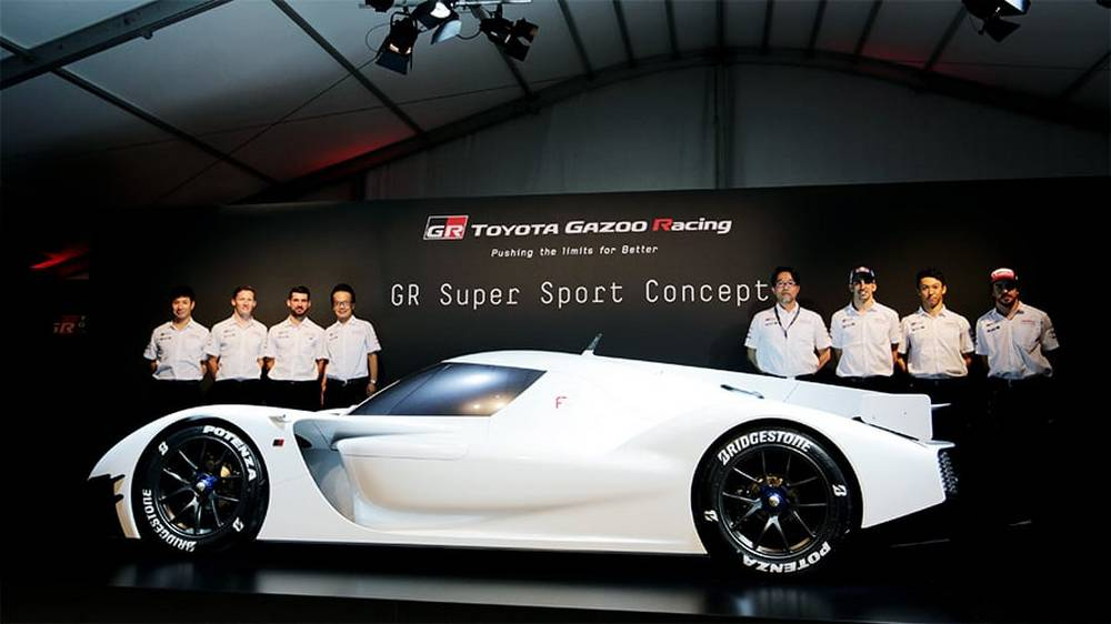 Toyota GR Super Sport Concept at Le Mans