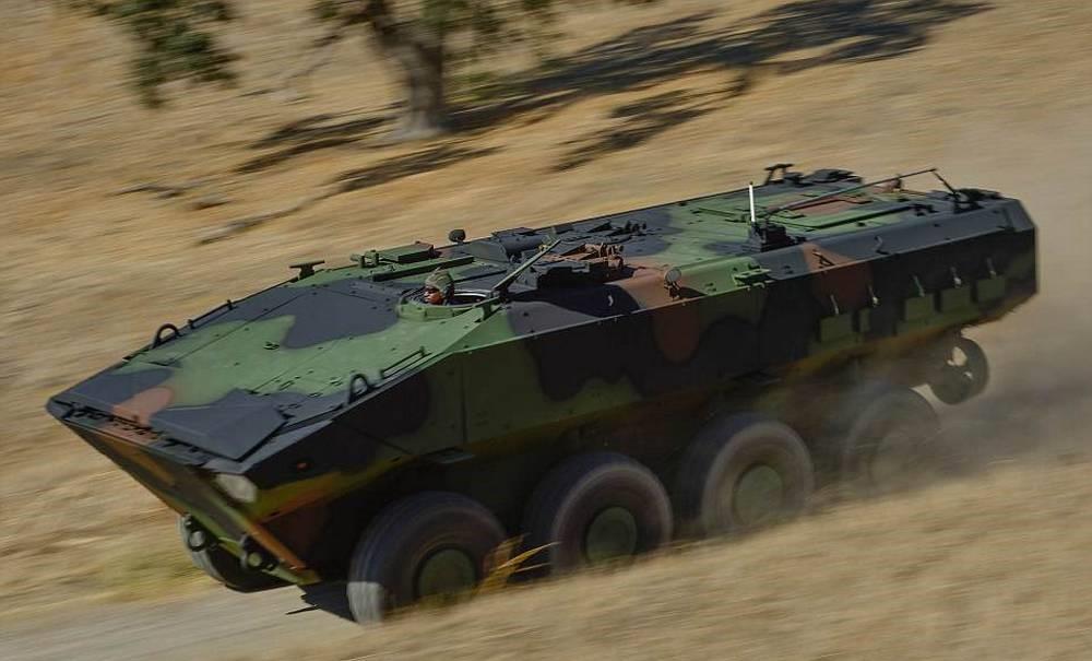 US Marine's new Amphibious combat vehicle