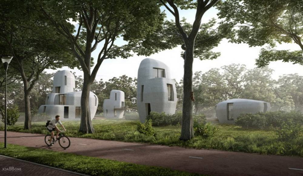 World's first commercial 3D-Printed Housing project