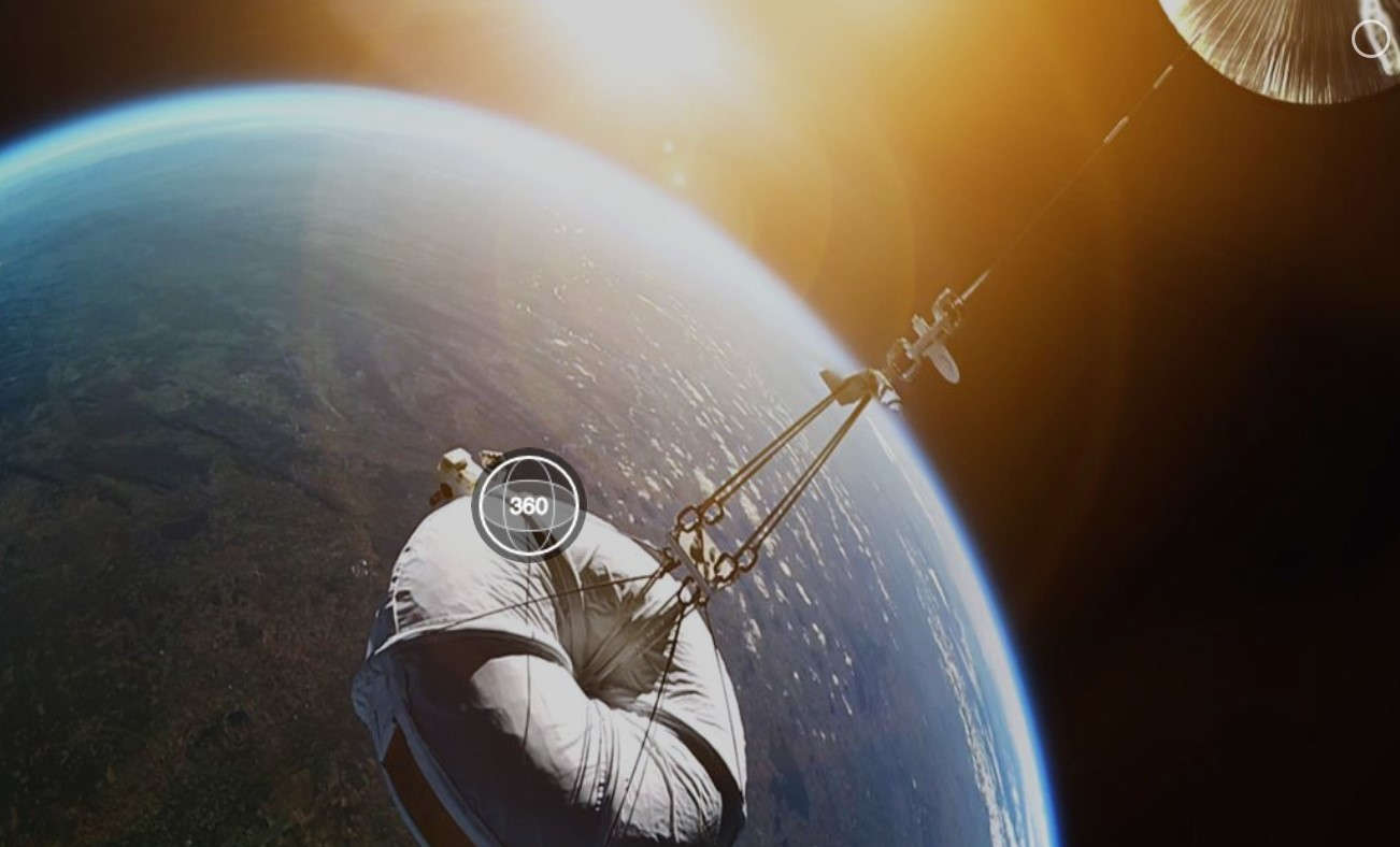 360° Ride to Space