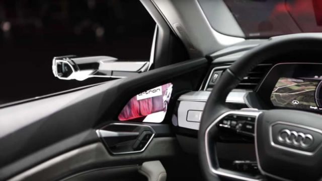 Audi's New Touchscreen Virtual Side Cameras