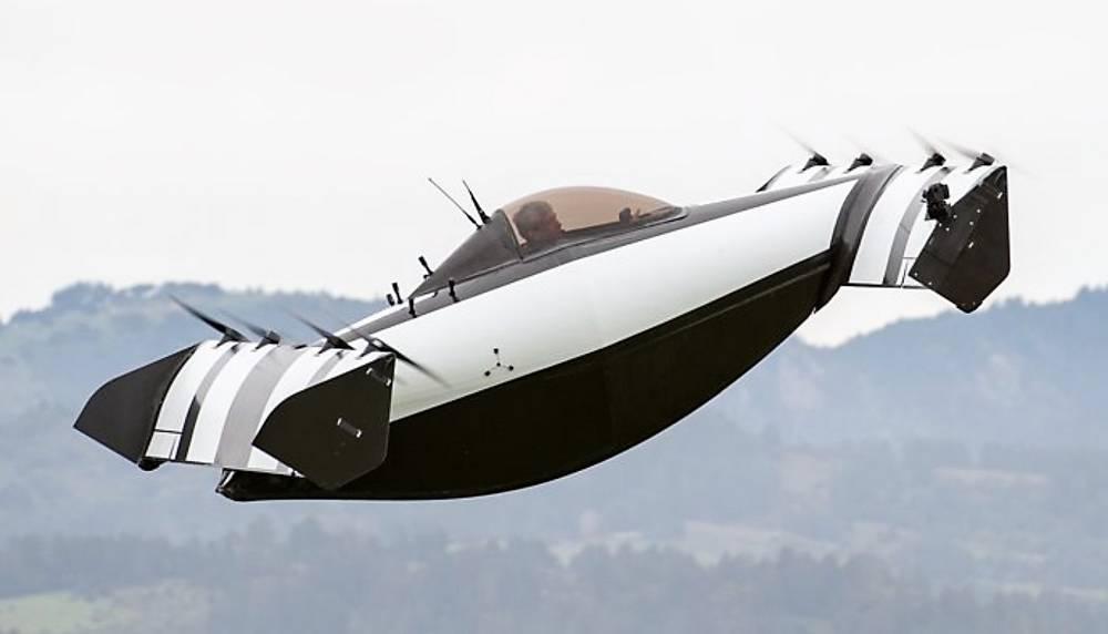 BlackFly Personal Aerial Vehicle