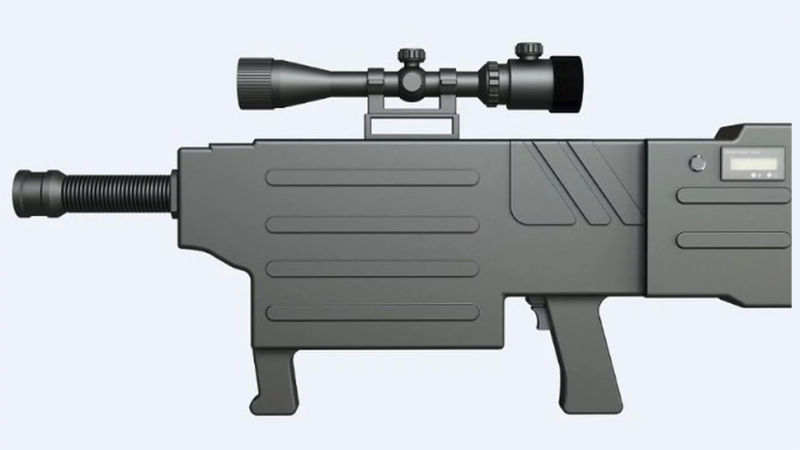 China's 'Laser AK-47' can hit a target from a kilometer