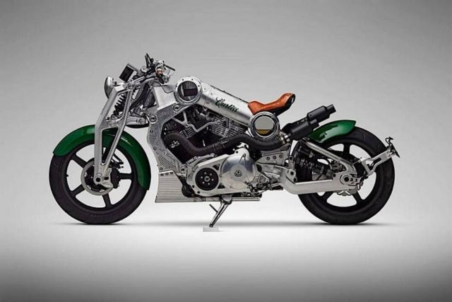 Curtiss Limited Edition motorcycle (3)