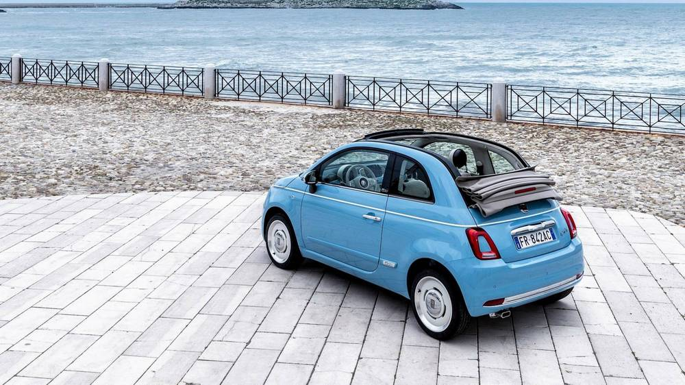 Fiat 500 spiaggina by garage italia wordlesstech for Garage fiat 500