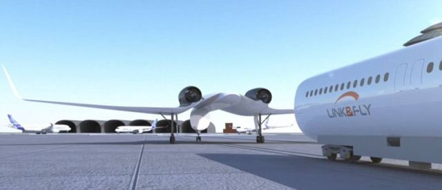 Link & Fly, Akka Technologies's new aircraft (1)