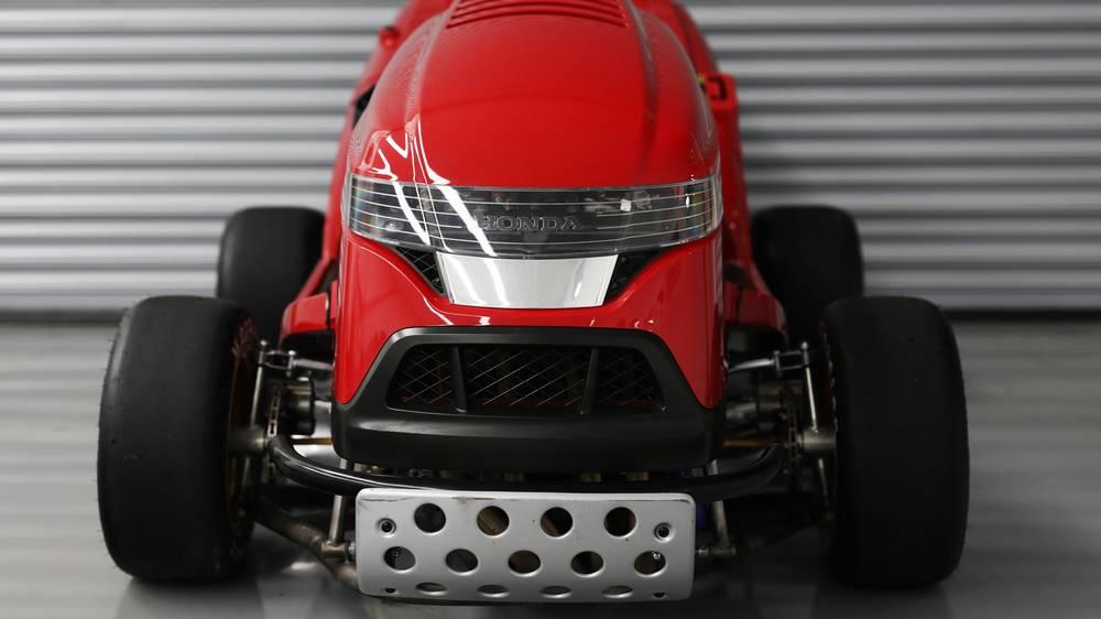 Honda Mean Mower V2 Targets For 150 Mph Wordlesstech