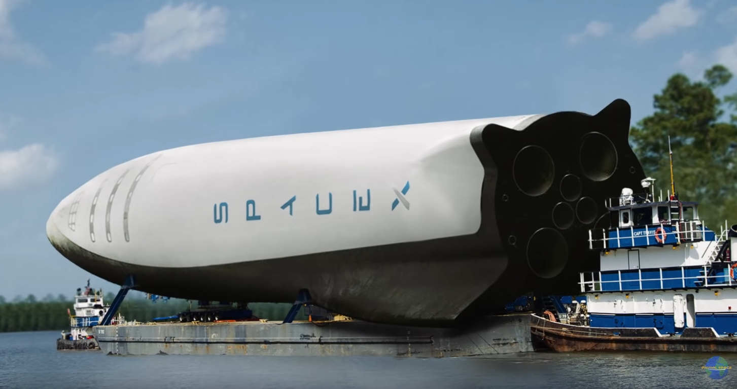 How will SpaceX transport the BFR