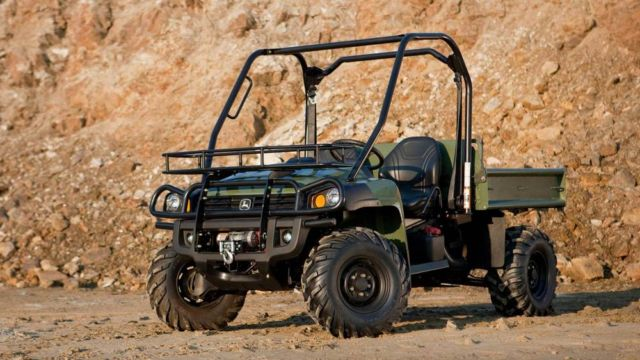 John Deere Military Gator Utility Vehicles (2)