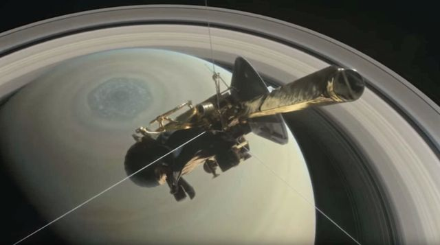 Listen to the mysterious Sounds of Saturn