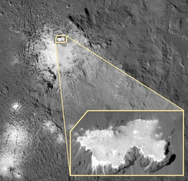 New stunning images from Ceres' mystery Bright Spots