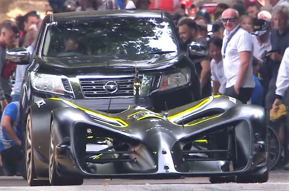 Roborace's first ever Driverless Hillclimb