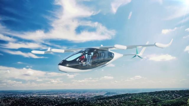 Rolls-Royce Flying Taxi concept