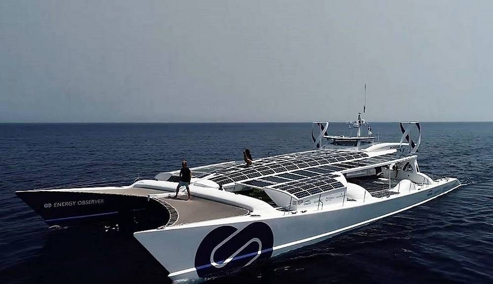 Energy Observer, the first Hydrogen vessel (5)