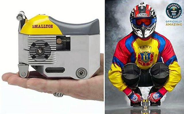 The World's Smallest Motorcycle
