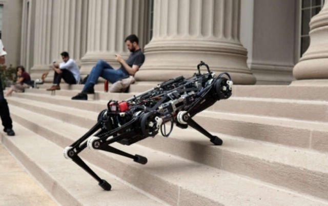 Vision-free Cheetah 3 Robot